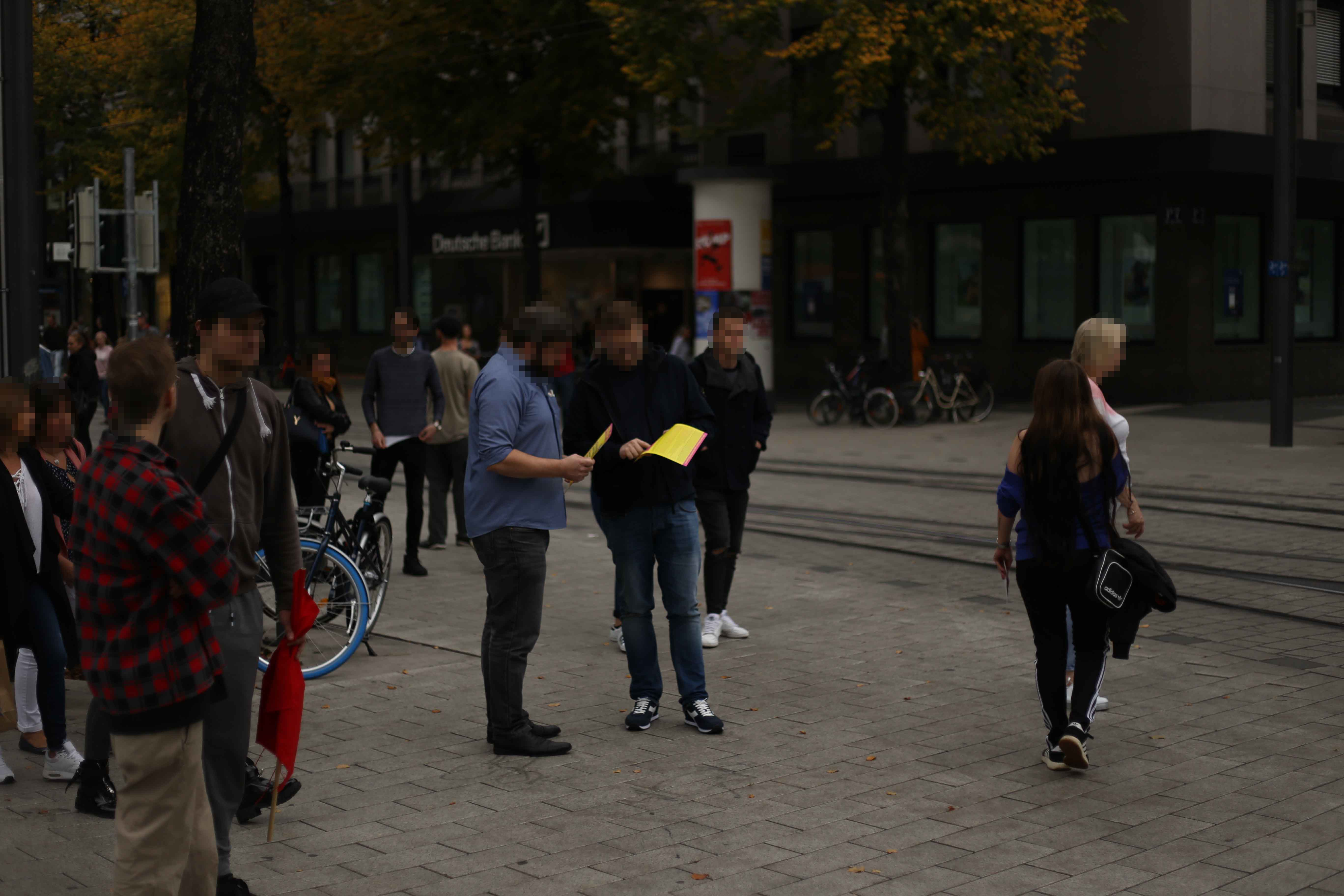 Kundgebung Mannheim 12.10.